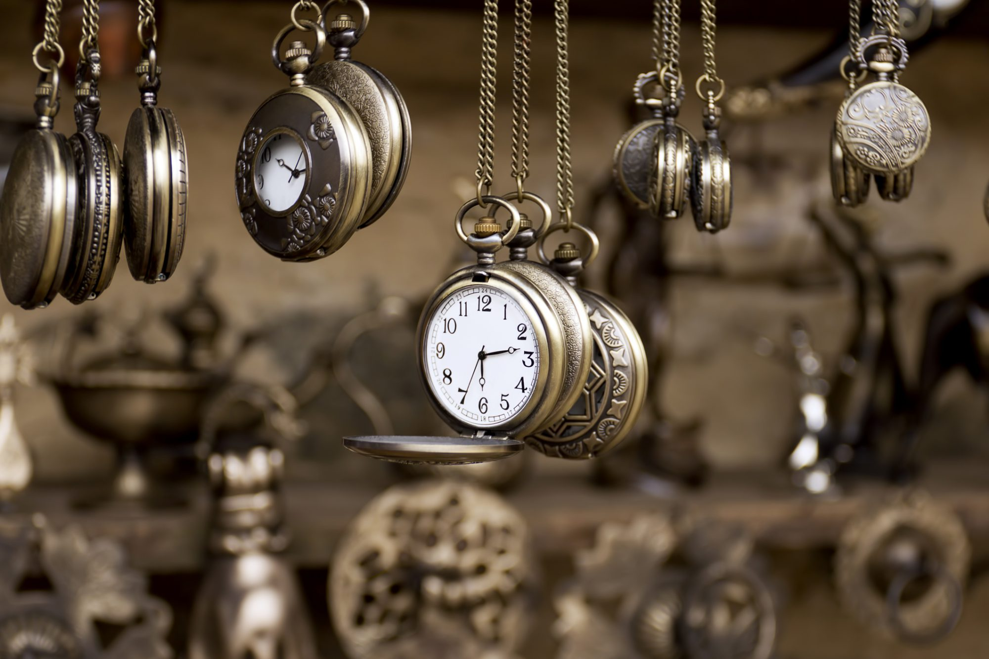 Antique pocket watches (Photographing Small Pieces)