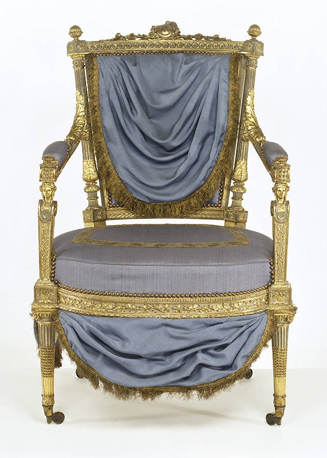 Let Them Eat Cake – Marie Antoinette chair, V&A Museum, London (Attracting Designers Online)